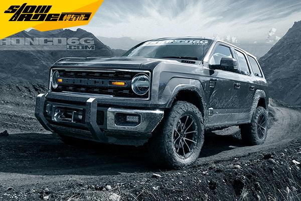 首次道路测试 福特Bronco将于2019年亮相