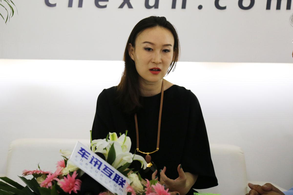 车讯网专访 东风标致市场部部长赵丹丹
