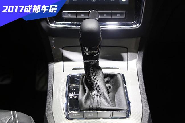 2017成都车展展馆实拍 上汽荣威RX5