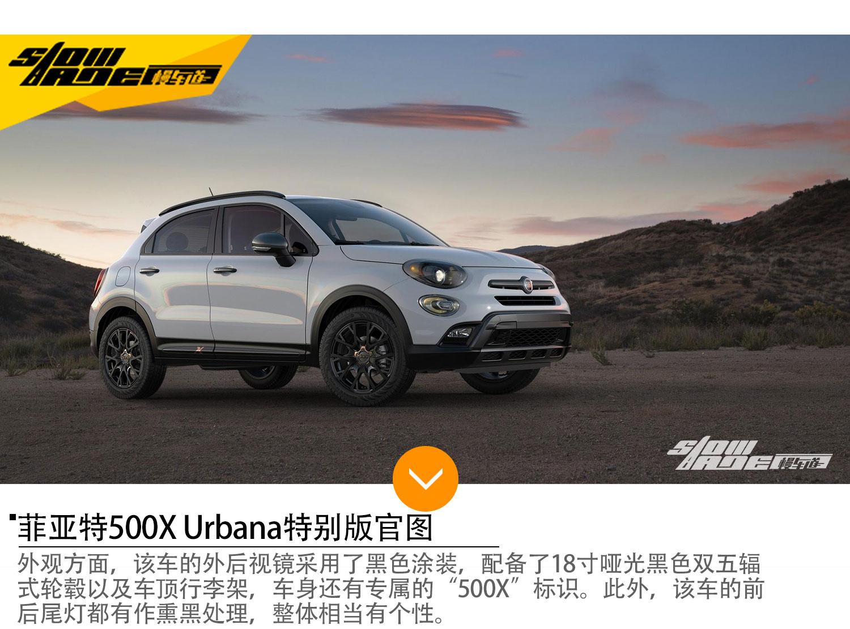 菲亚特500X Urbana特别版 新增旅行套件