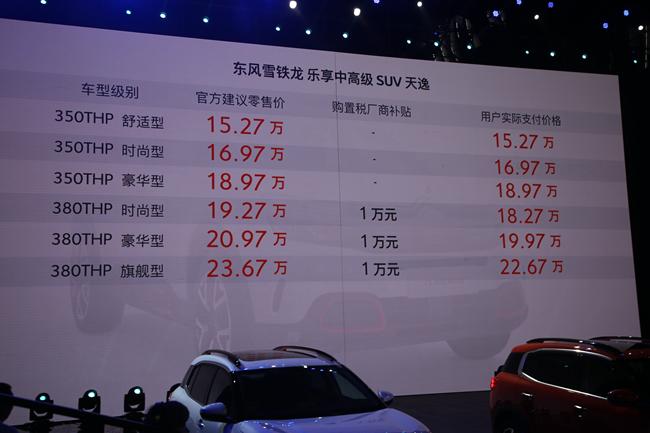 <b>雪铁龙天逸正式上市 售价15.27</b>