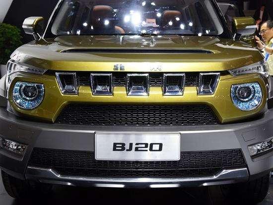 北京汽车BJ20双节狂降北京BJ40惊喜价格