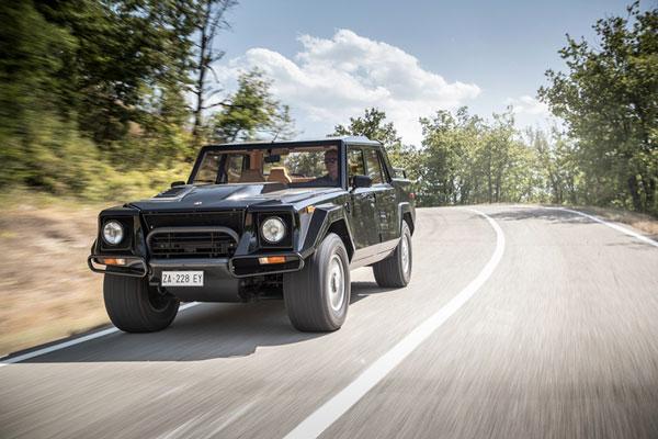 兰博基尼回顾首款SUV 传奇车型LM002