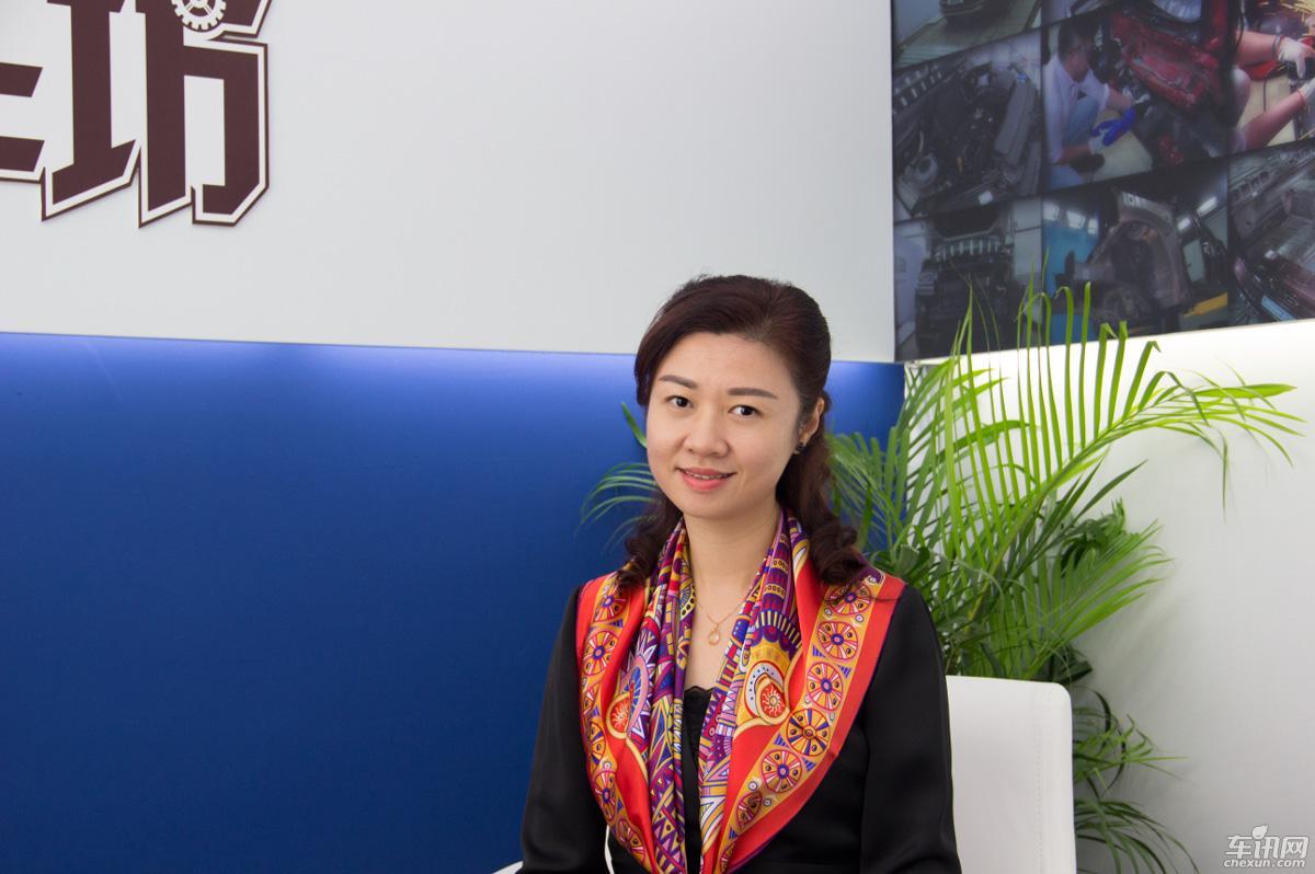 专访广州南菱万众4S店总经理卢嘉洵女士