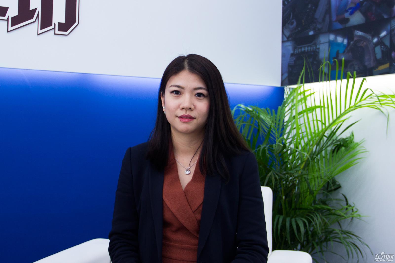 专访广州龙星翔鹏奔驰店总经理吴惠玲女士