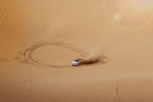比亚迪全新一代SUV沙漠测试伪装谍照曝光