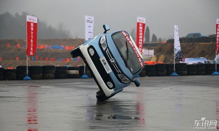 2017众泰E200全国汽车短道拉力锦标赛开赛