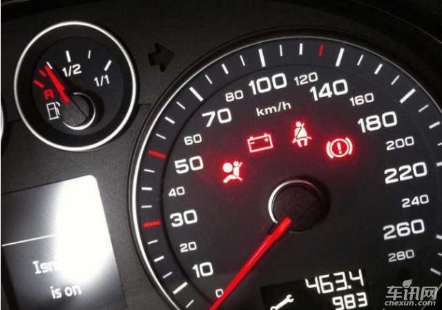 汽车小知识如何从车表面看出车内的小故障