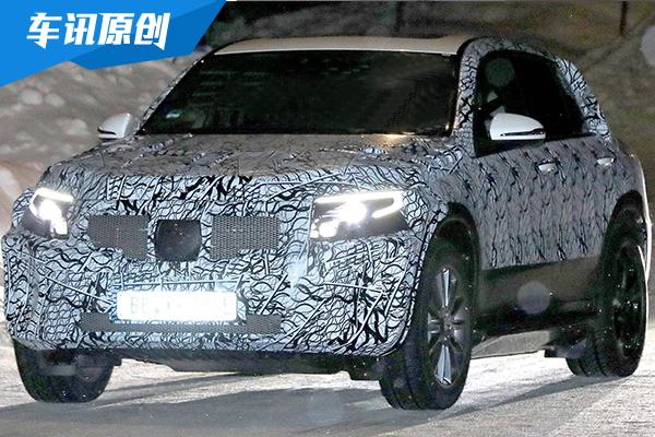 奔驰纯电动SUV—EQ C谍照首曝 或明年上市