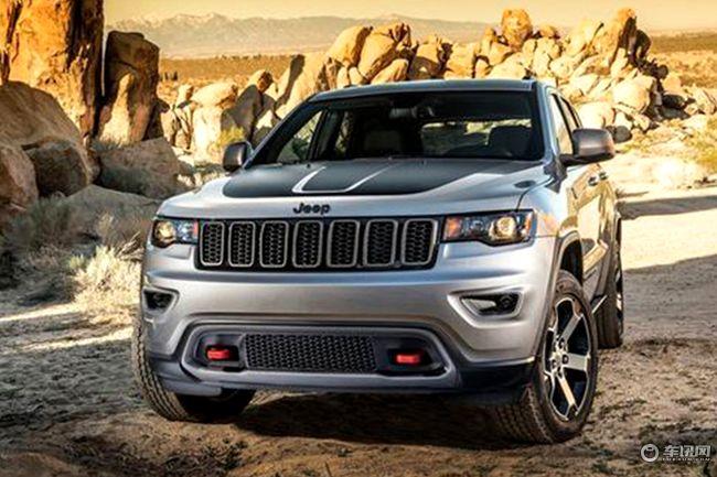 Jeep大切诺基Trailhawk汽油版或7月上市