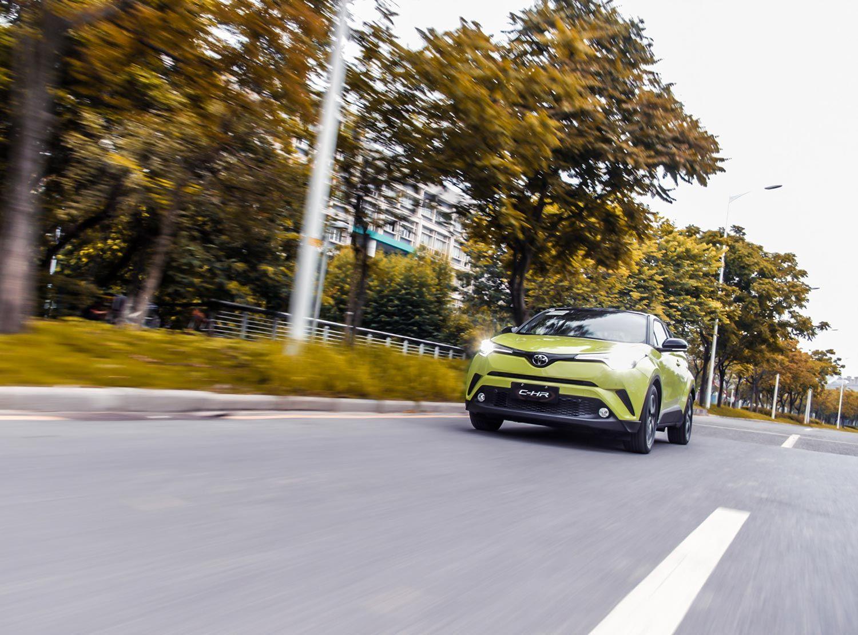 试驾广汽丰田C-HR 2018款2.0L旗舰版柠檬黄