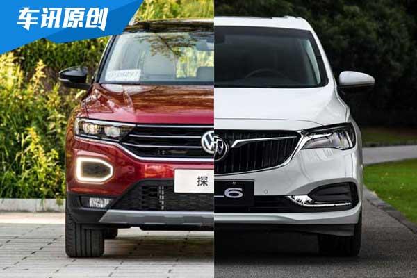 MPV/SUV谁是家用良选 别克GL6对比大众探歌