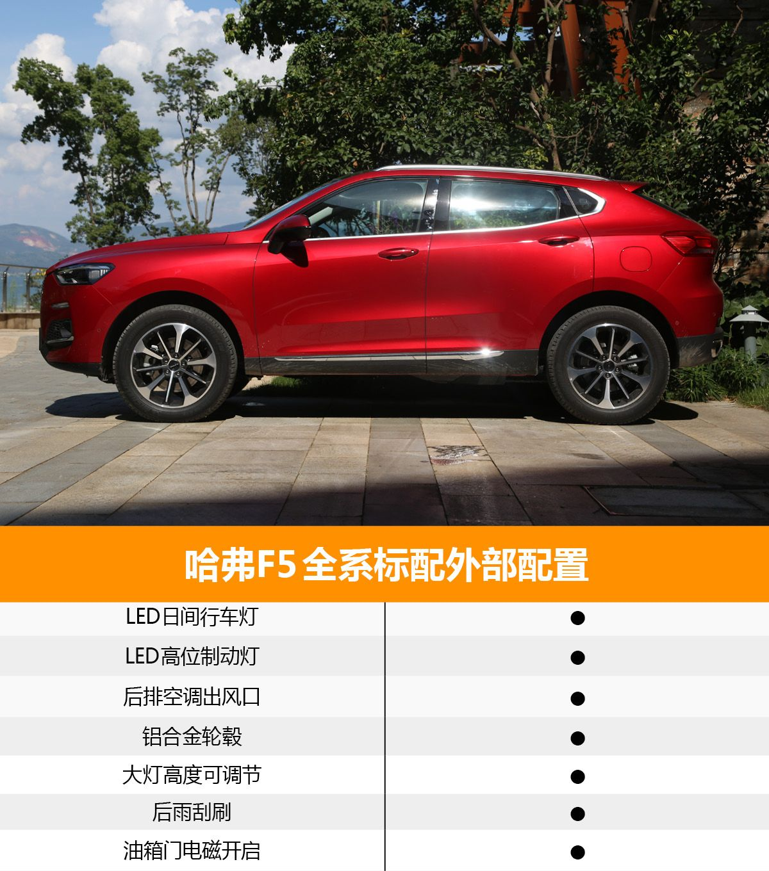 首推次顶配车型——i潮 哈弗F5购车手册