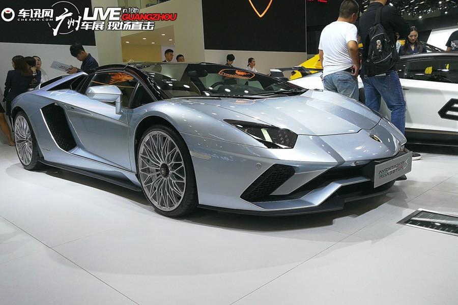 2018广州车展:兰博基尼Aventador S敞篷