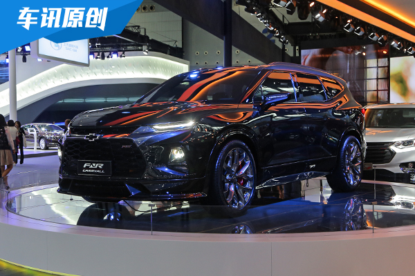 2018廣州車展:雪佛蘭先導概念版SUV圖解