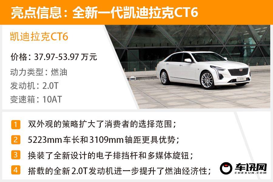 中高配选哪款 新款凯迪拉克CT6购必威手机版手册