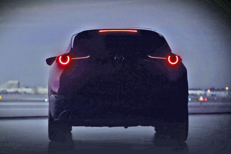 马自达公布全新SUV预告图 日内瓦车展亮相