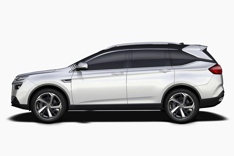 纳智捷全新中型SUV官图曝光 或二季度上市
