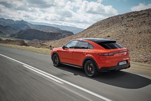 保时捷打造全新运动轿跑SUV Cayenne Coupé