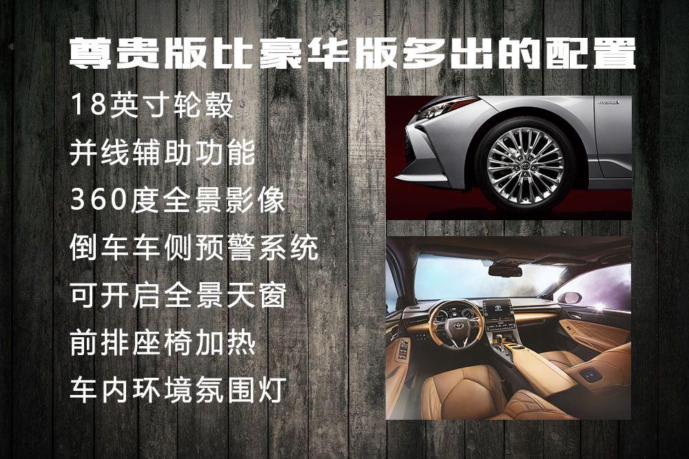 推荐双擎豪华版 一汽丰田亚洲龙购车手册