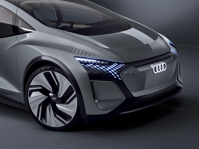 搭自动驾驶技术 奥迪全新概念车AI:ME亮相