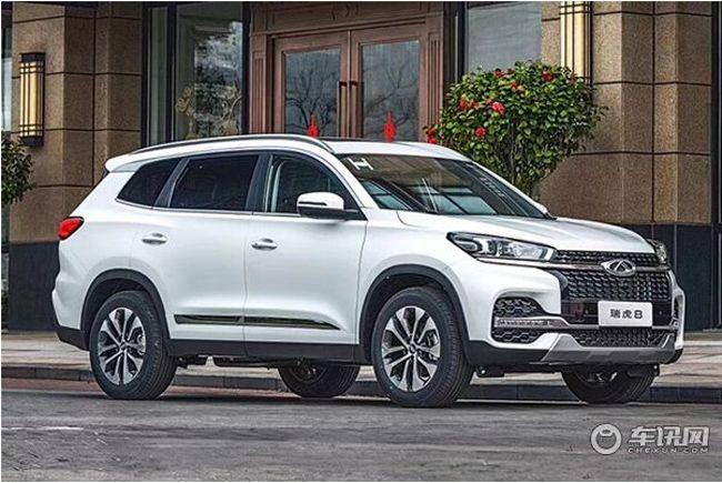 重庆瑞虎8限时优惠1.58万元 有现车在售