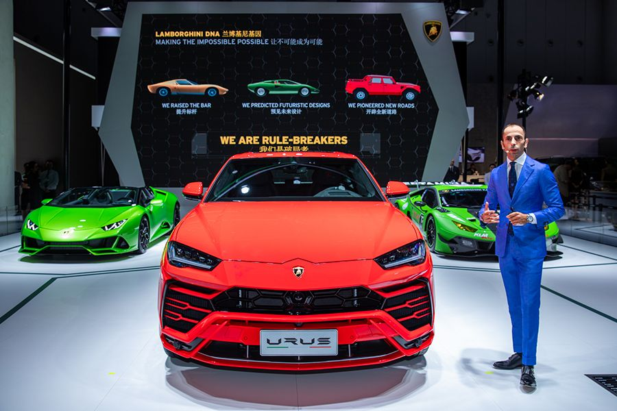 2019成都车展:兰博基尼Huracán GT3 EVO戴通纳特别版亮相