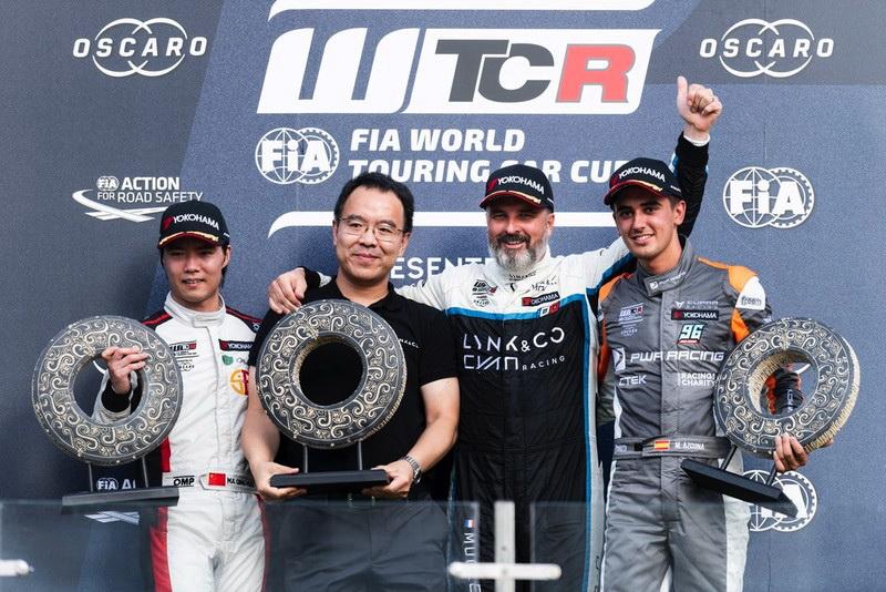 領克車隊2019 WTCR中國寧波站斬獲雙冠
