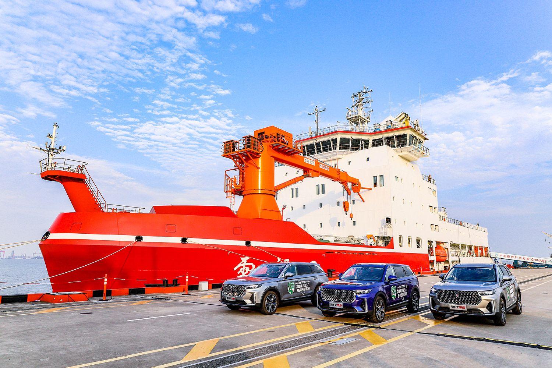 一汽奔腾T99携手雪龙2号首次挑战南极之旅