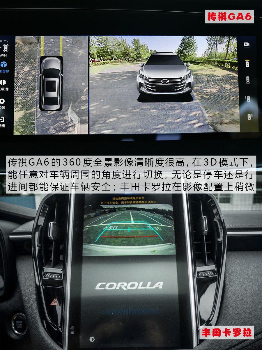 自主&合资!传祺GA6与卡罗拉谁才是15万级家用车的最佳选择?