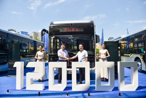 宇通新能源客车定义高端公交标准,宇通造型DNA树立行业新标杆