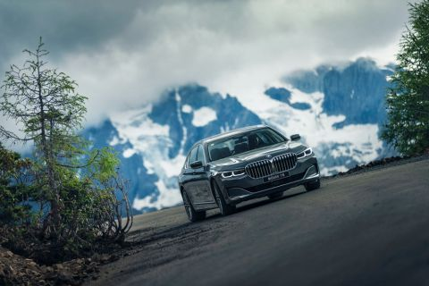 与新BMW 7系一起 来一场说走就走的豪华舒适之旅