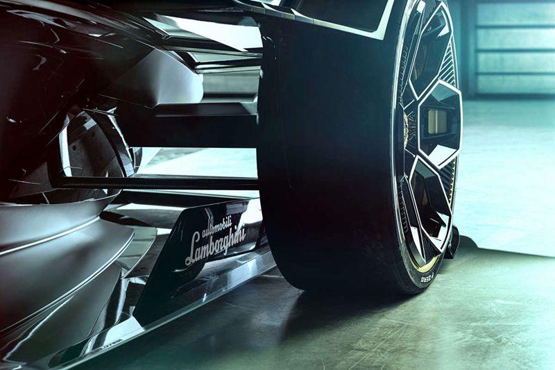 兰博基尼Lambo V12 Vision GT概念车在蒙特卡洛发布