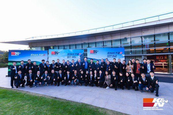 O2O赋能价值 K&N全系登陆上海法兰克福汽配展