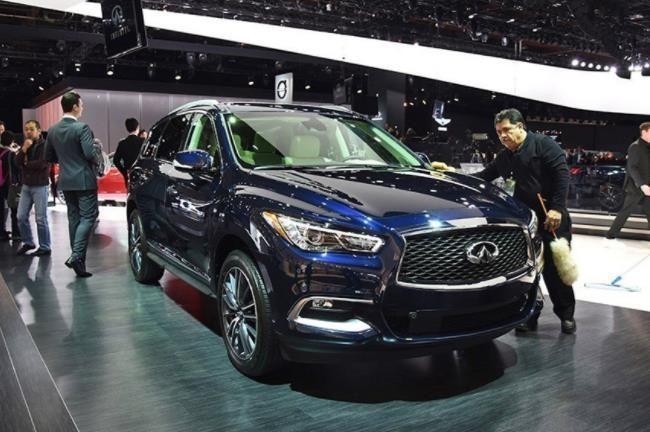 武汉英菲尼迪QX60最高优惠5万元 现车在店