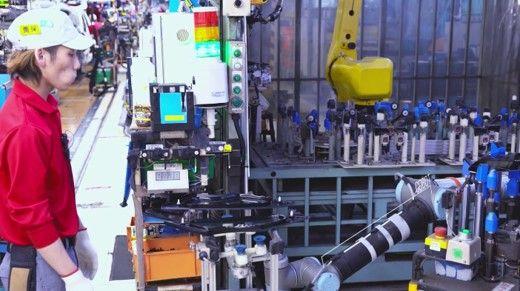 探秘日产线上配资 未来工厂 应用人体工程学提升效率
