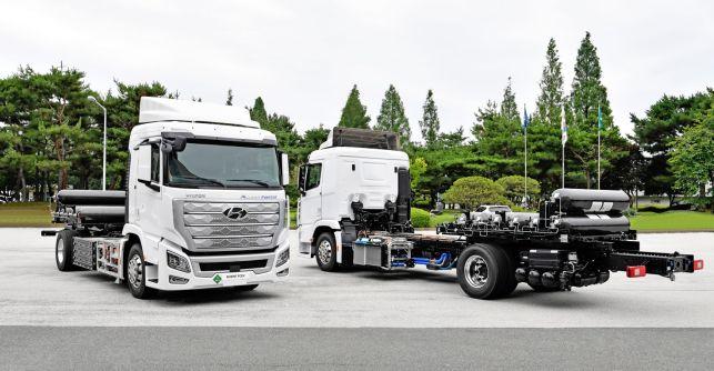 现代汽车全球首款氢燃料电池重卡将投入商用