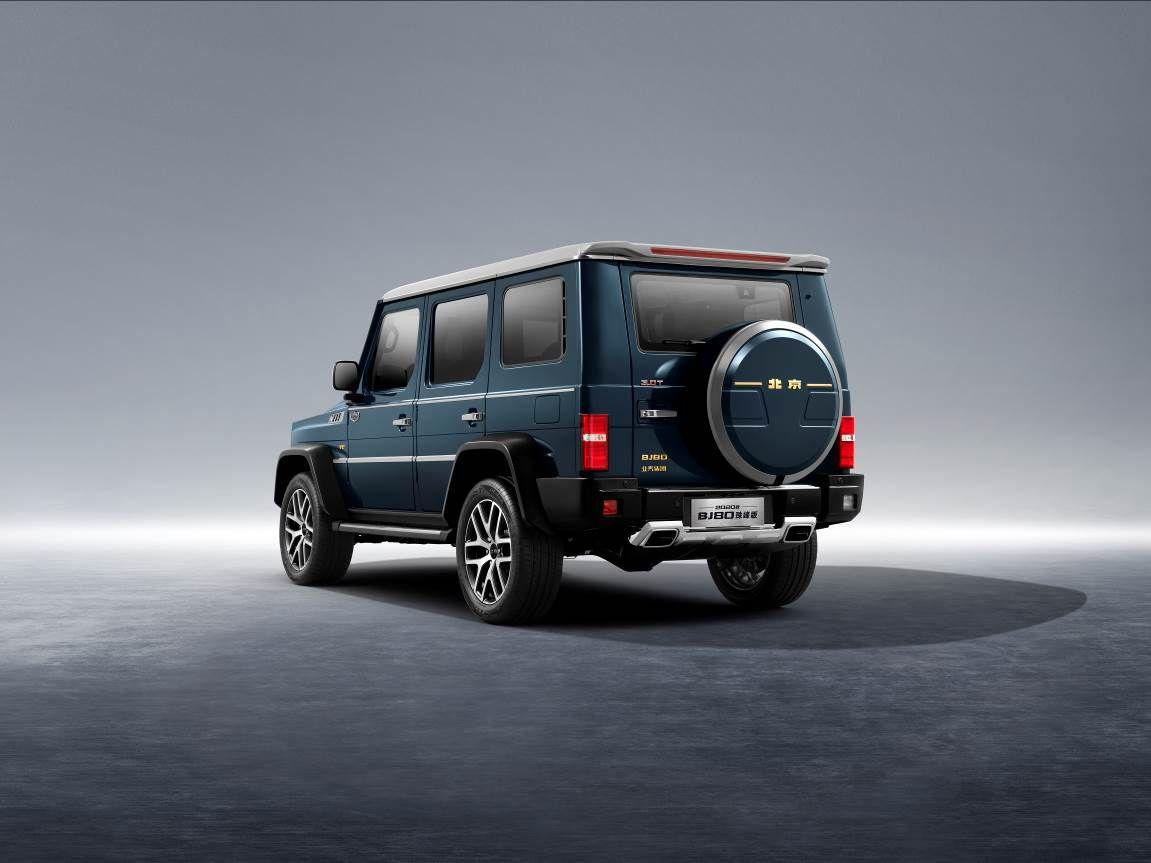 2020款BJ80携手火星车荣耀上市 售价29.8万起