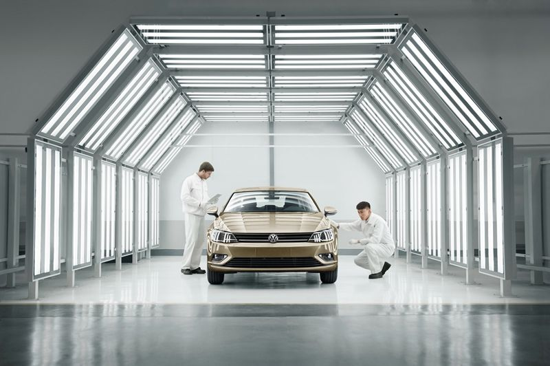 造车绝不是车轮加沙发 探访上汽大众质保实验室