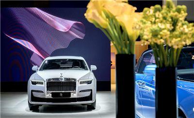 劳斯莱斯汽车闪耀亮相2020北京国际汽车展览会