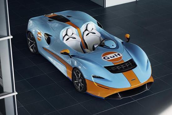 迈凯伦特别版车型发表,不认真看,真以为是辆车模?