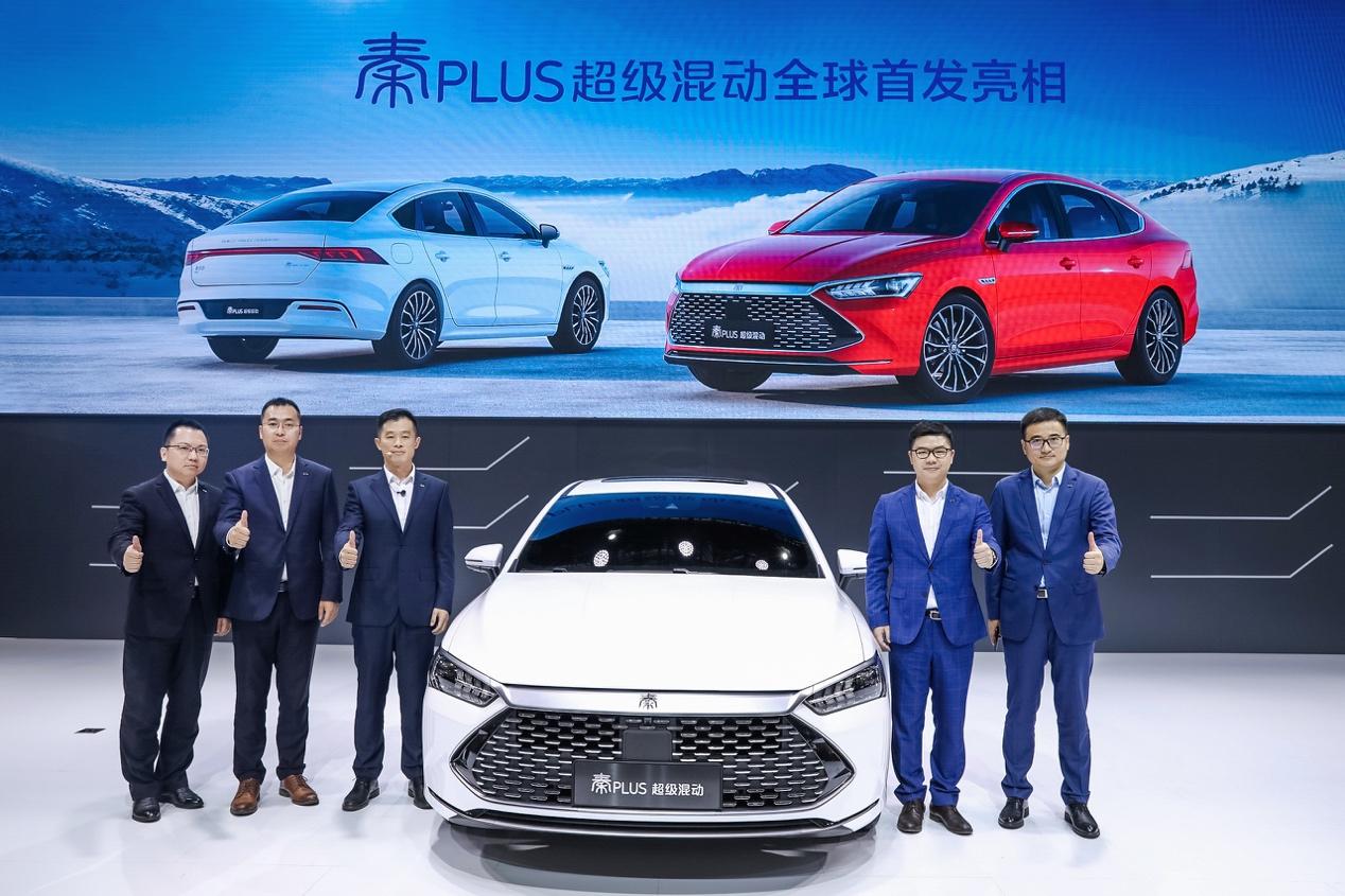 广州车展 比亚迪用领先科技展现中国自信