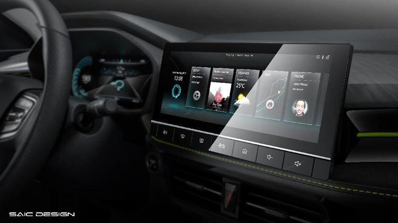 全新荣威i5内饰官图发布 质感+智能科技全面提升