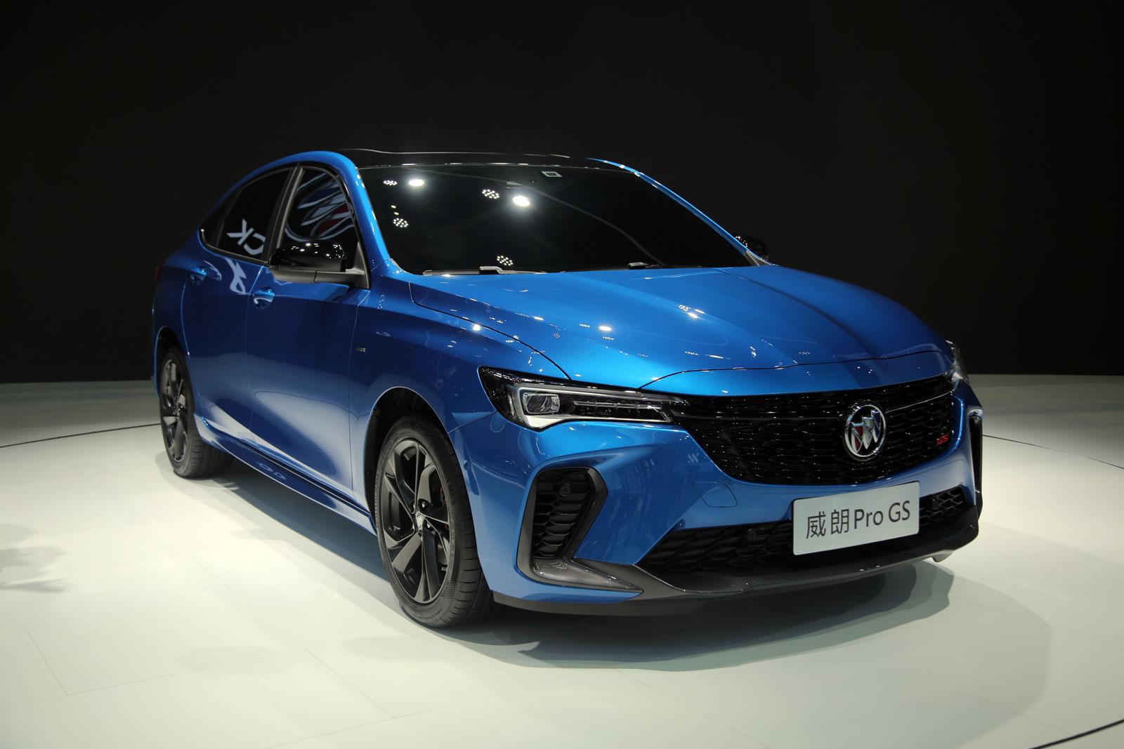 不脫離實用的運動 車展實拍別克威朗Pro GS