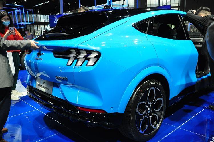 福特在2021上海车展发布中大型SUV:EVOS