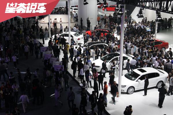 盘点2021上海车展:合资车企展台主要看点